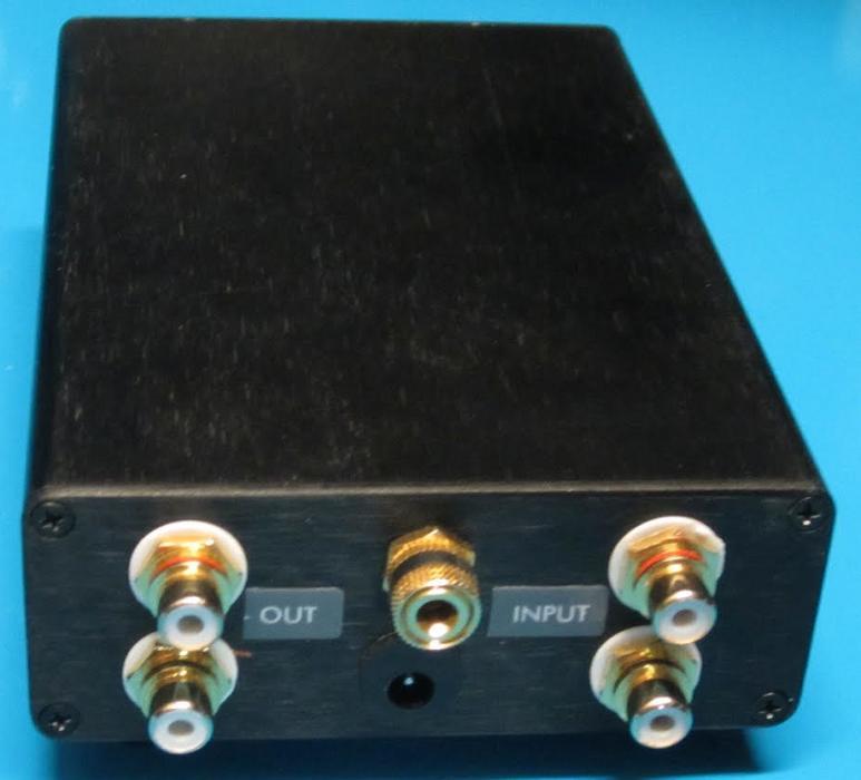 照片3:riaa唱机前置放大器适合mm和mc墨盒   后