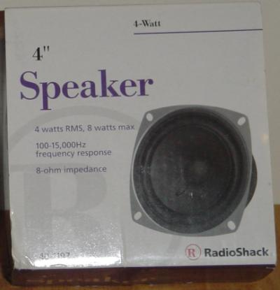 speakers radio shack. radio shack 40-1197 purple box speakers a