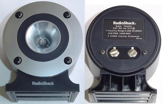 Radio Shack Realistic 40-13Horn Super Tweeter