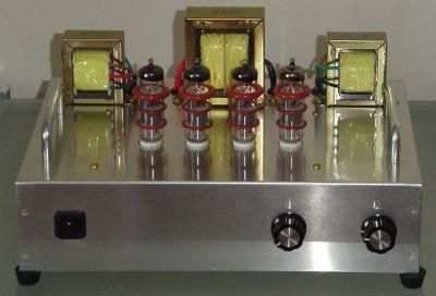 Finished S-5 Electronics K-12M Tube Amplifier Kit - DIY Audio ...