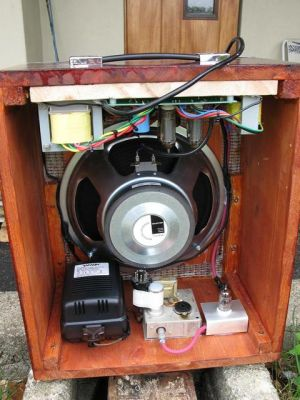 Diy guitar amplifier inside diy audio projects photo gallery diy guitar amplifier inside solutioingenieria