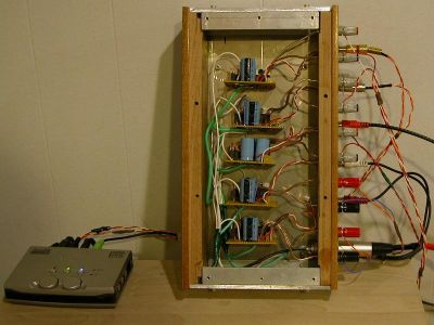 5 Channel LM3875 ChipAmp / Gainclone Amplifier - DIY Audio Projects