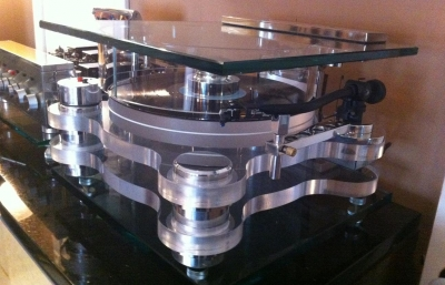 Diy Acrylic Platter Turntable Diy Audio Projects Photo