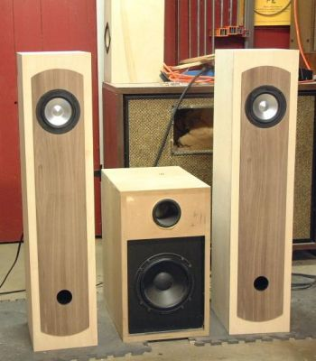 Diy Jordan Jx92 Tower Loudspeakers Diy Audio Projects