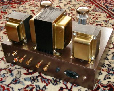 Normal Diy Kt Se Tube Amplifier on Single Ended Tube Amp Schematic