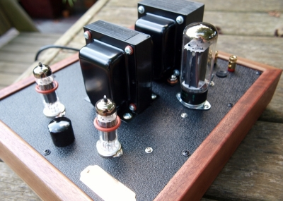 Decware inspired EL84 amp with attenuation - DIY Audio