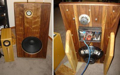 Fostex Ff85k Eminence Alpha 15a Open Baffle Speaker