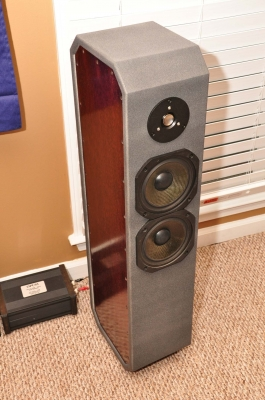 DIY 2-Way Tower Speakers Audax HM170CO Tang Band 25-1372SC