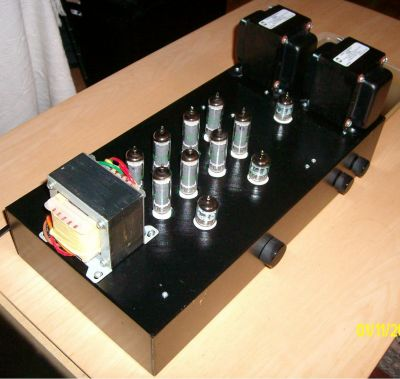 kls tube amp kit with hammond opt  diy audio projects photo, schematic