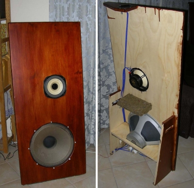 Lowther Dx3 Open Baffle Speakers Diy Audio Projects