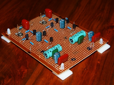 Elliott Sound Discrete transistor preamp P37A - DIY Audio Projects