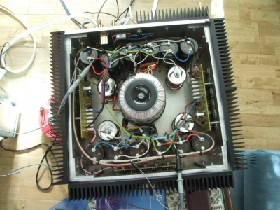 Variant of the Aleph 4, a true 100W Class-A amplifier - DIY Audio