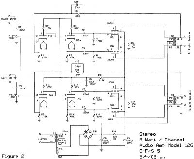 s 5 electronics k 12g tube amplifier schematic diy audio projects el34 se amp s 5 electronics k 12g tube amplifier schematic