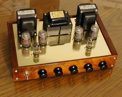 Push Pull 6t9 Stereo Tube Amplifier Diy Audio Projects Photo Gallery
