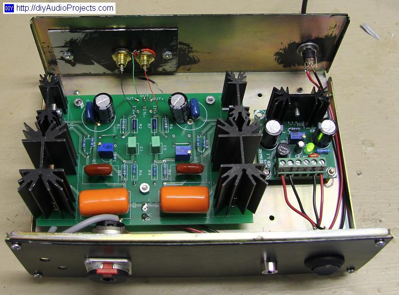 Class A Mosfet Headphone Amplifier Lm Ps