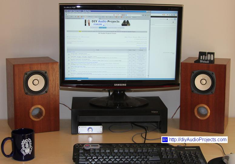 Fostex FE103En Nearfield Monitor Speakers