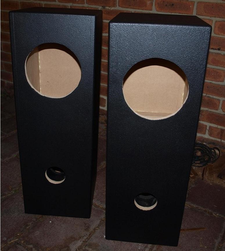 Fostex Fe206en In Double Bass Reflex Speaker Enclosure