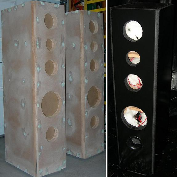 Hi-Vi Speaker Box - Pre-Primer and Paint