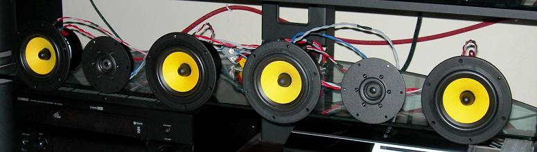 diy center channel speaker with hivi f5 and sd1 1a rh diyaudioprojects com