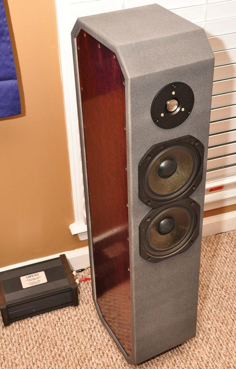 Ion - DIY 2-Way TMM Tower Loudspeaker Project