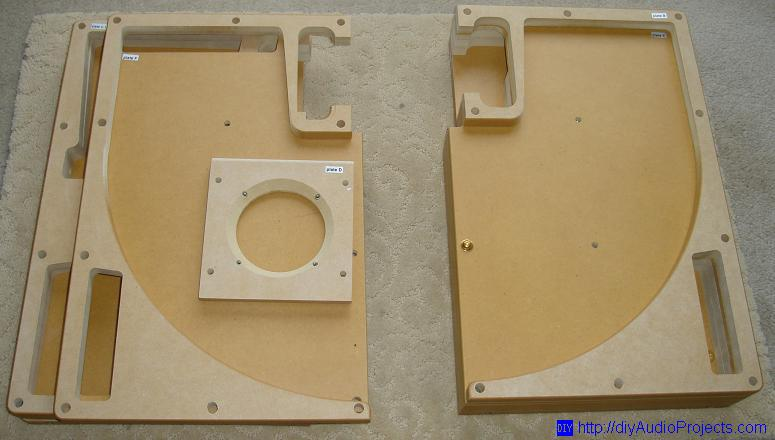 Ready-to-Assemble Horn Enclosure Speaker Kit