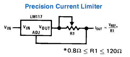 http://diyaudioprojects.com/Technical/Current-Regulator/Precision-Current-Limiter-Schematic-Circuit-LM317-LM338-LM350.png