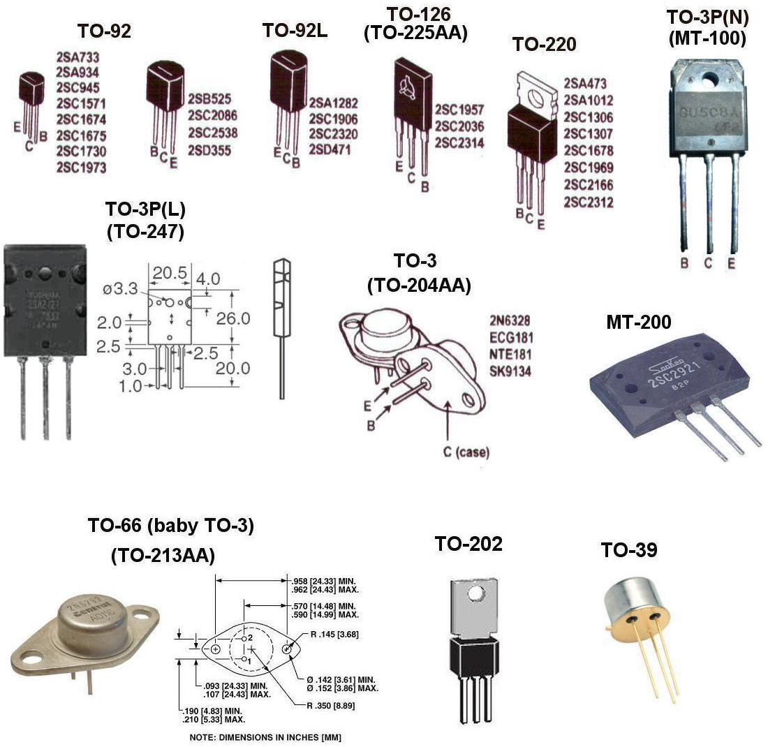 Conhecendo componentes eletronicos - Página 2 Transitorcases