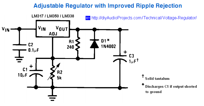 Voltage Regulator on 12 volt voltage regulators
