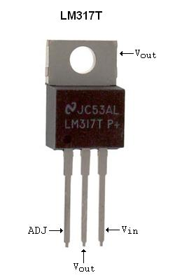 Transistor lm317