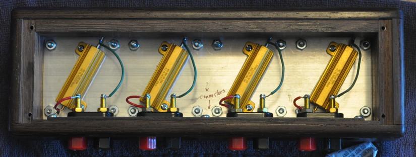Wiring Inside Speaker Dummy Load on 8 Ohm Speaker Wiring Diagram