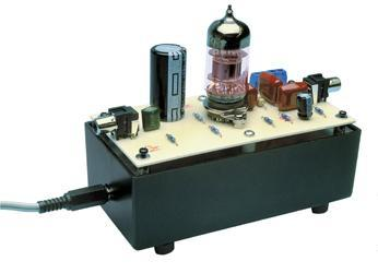 12ax7 tube (valve) preamplifier kit 12ax7 grid stock build of 12ax7 line level preamplifier kit