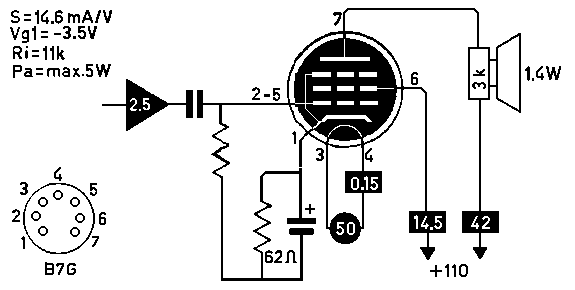 50EH5 Single-Ended (SE) DIY Tube Amplifier Project
