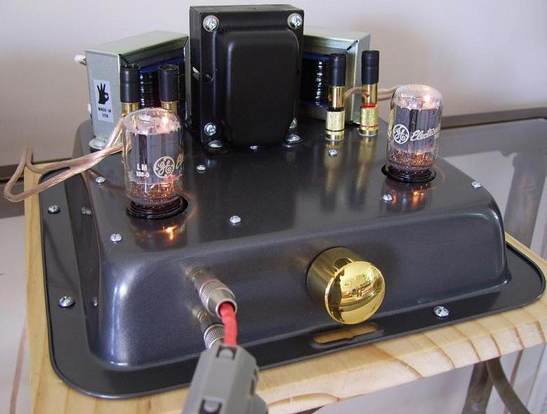 Diy 6t9 tube valve single ended amplifier kit single ended 6t9 tube amp kit solutioingenieria Image collections