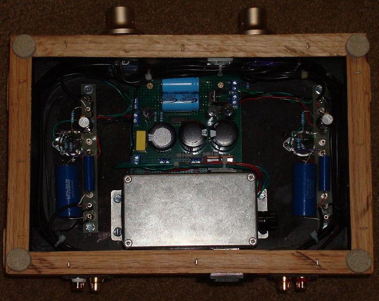 Forewatt Type I Ecc802s 12au7 Ecc82 Tube Preamplifier Schematic