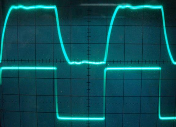 Amp On An Oscilloscope : Diy ecc s srpp el bq push pull tube amplifier