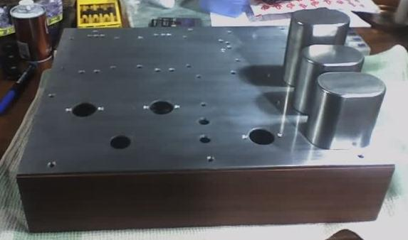 Enclosure Construction - KT88 Tube Amp