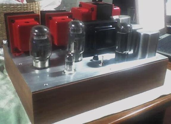 Finished KT88 Single Ended (SE) Tube Amplifier