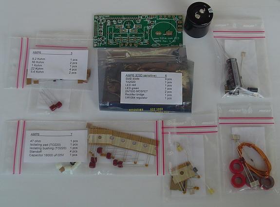 AMP6 T-Amp DIY Class-T Amplifier Kit from 41hz com