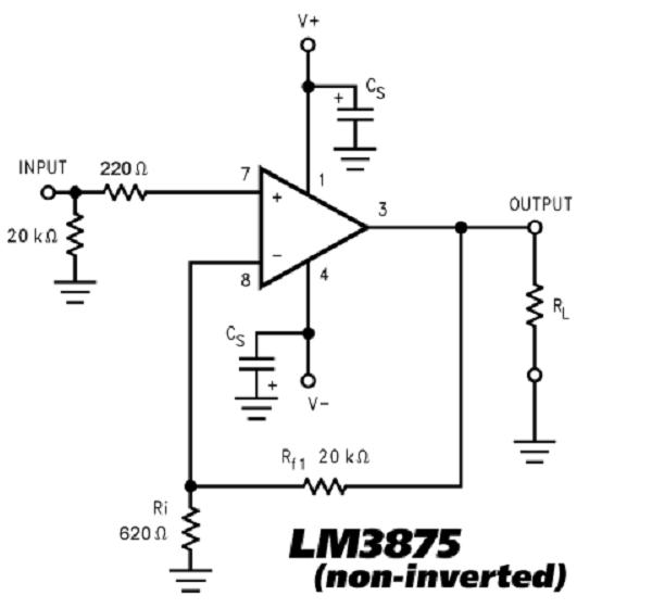 the  u0026quot beast u0026quot  - lm3875 chip amplifier  gainclone  kit