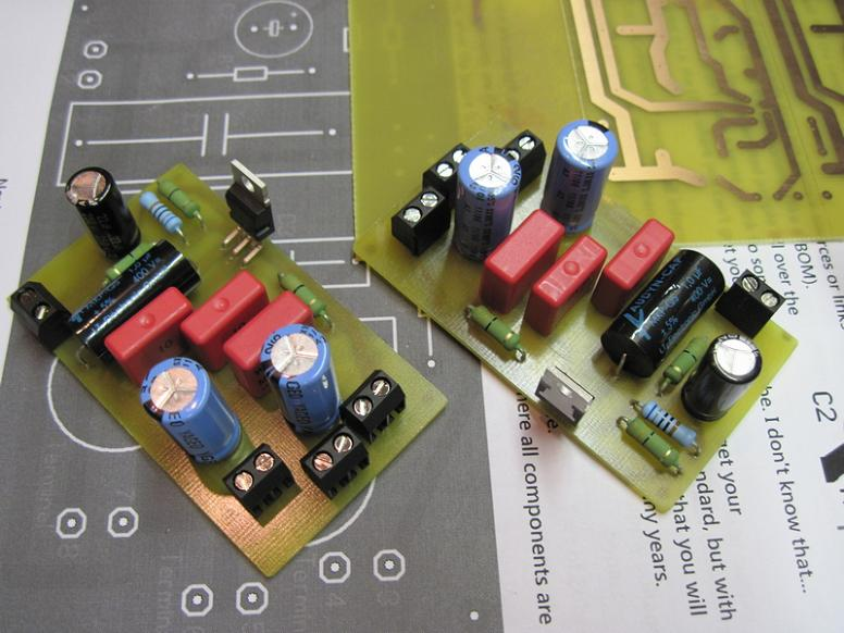 DIY TDA2050 Hi-Fi Chip Amplifier (chipamp)