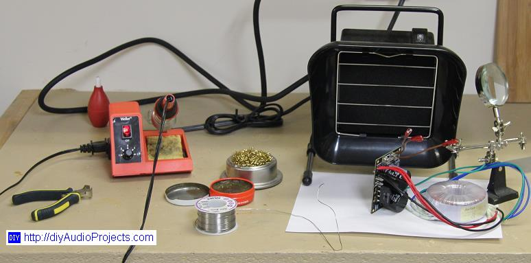 Gobo Stereo Audio Amplifier Kit (LM1875, 15W, Class-AB) - Review