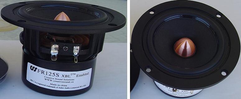 CSS FR125SR Fullrange Speaker Driver