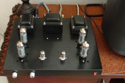Diy tube Headphone amp Kit