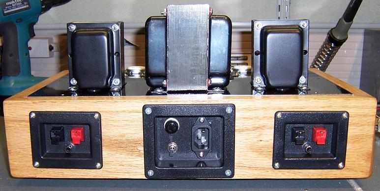DIY Push-Pull (PP) 6V6 / 6V6GT Tube Amplifier Schematic