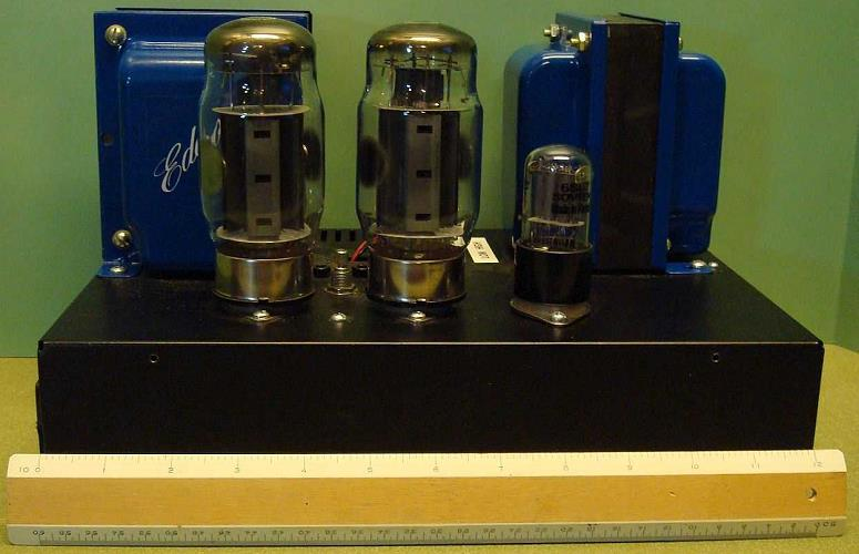 KT120 Push-Pull Tube Amplifier Schematic (Oddwatt Audio OBHO)
