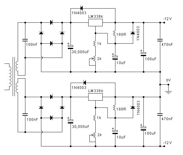 jean hiraga\u0027s le monstre monster diy class a 8w amplifierjohn linsley hood lm338 regulated power supply schematic