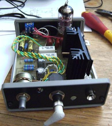 DIY 12AU7 (ECC82) Tube - IRF612 MOSFET Hybrid Headphone