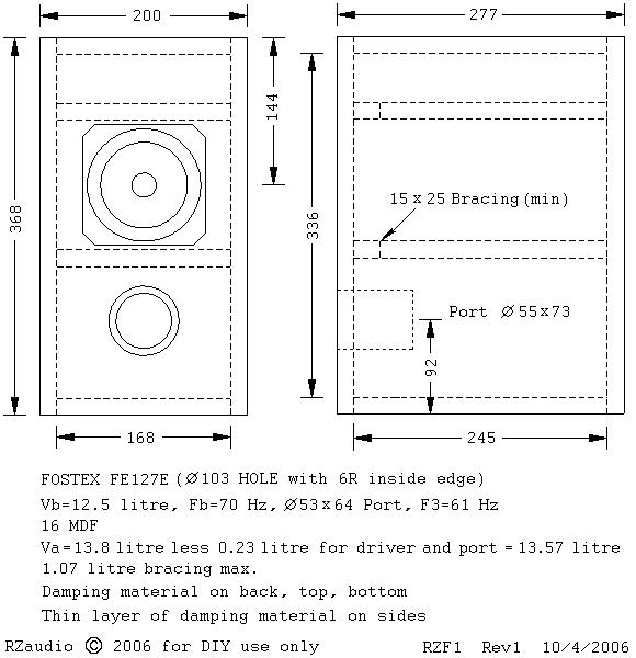 Bass reflex hornresp tutorial manual