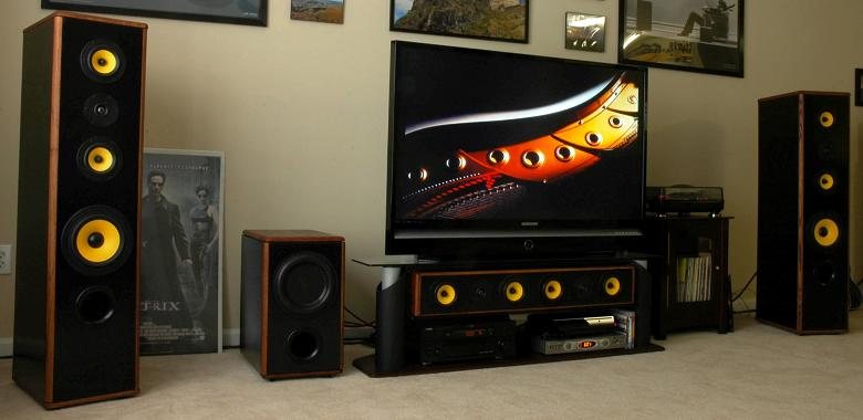 Build Home Theater Speaker System