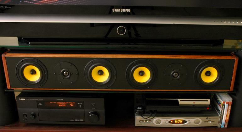 DIY Center Channel Speaker with HiVi F5 and SD1 1A